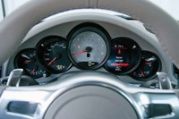 2012 Porsche 911 Carrera S gauges