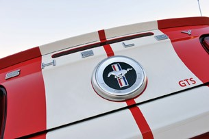 2012 Shelby GTS rear detail