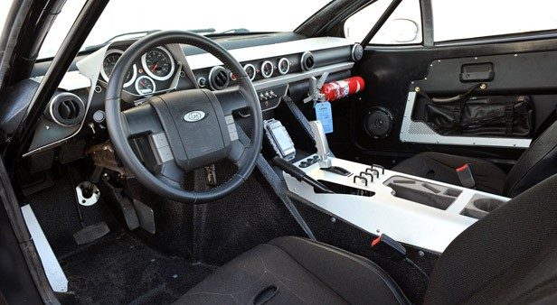 Local Motors Rally Fighter interior