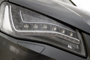 2012 Audi S8 headlight