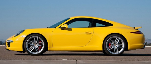 2012 Porsche 911 Carrera S side view