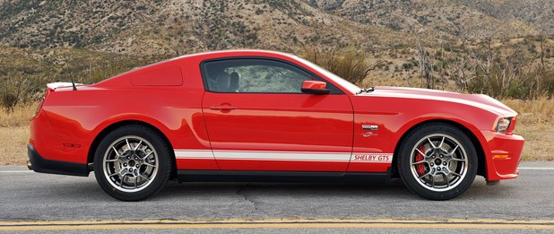 2012 Shelby GTS side view