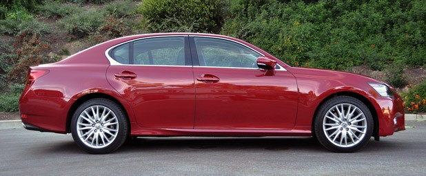 2013 Lexus GS 350 side view