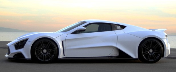 Zenvo ST-1 side view