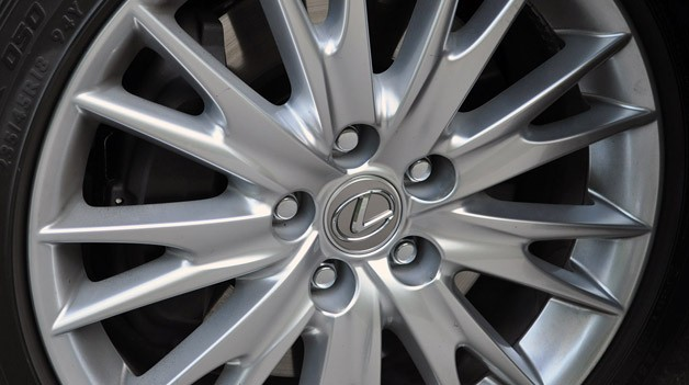 2013 Lexus GS 350 wheel