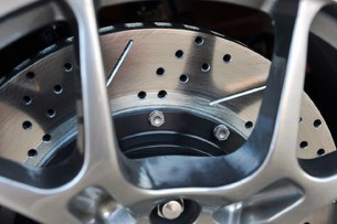 2012 Shelby GTS brakes