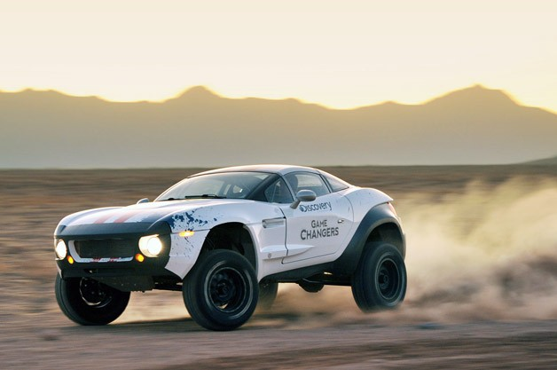 Local Motors Rally Fighter off-road