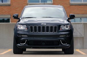 2012 Jeep Grand Cherokee SRT8 front view