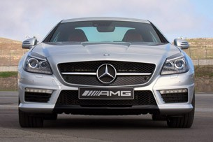 2012 Mercedes-Benz SLK55 AMG front view