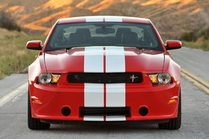 2012 Shelby GTS front view