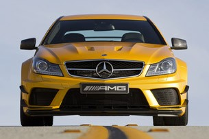 2012 Mercedes-Benz C63 AMG Coupe Black Series front view