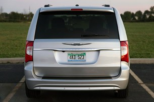 2011 Chrysler Town &amp; Country Touring rear view