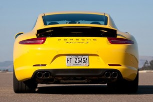 2012 Porsche 911 Carrera S rear view
