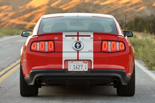 2012 Shelby GTS rear view