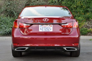 2013 Lexus GS 350 rear view
