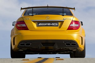 2012 Mercedes-Benz C63 AMG Coupe Black Series rear view