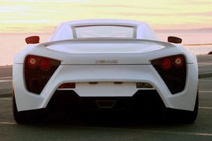 Zenvo ST-1 rear view
