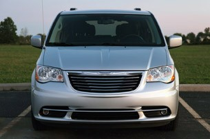 2011 Chrysler Town &amp; Country Touring front view