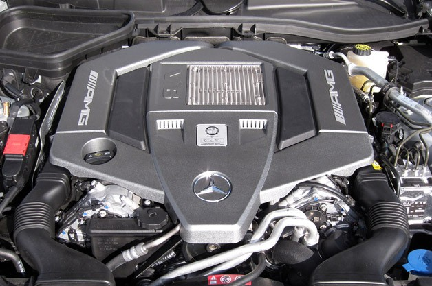 2012 Mercedes-Benz SLK55 AMG engine