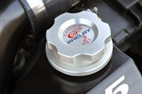 2012 Shelby GTS billet cap
