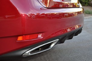 2013 Lexus GS 350 exhaust tips