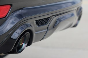 2012 Jeep Grand Cherokee SRT8 rear fascia