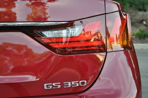 2013 Lexus GS 350 taillight