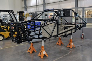 Local Motors Rally Fighter frame