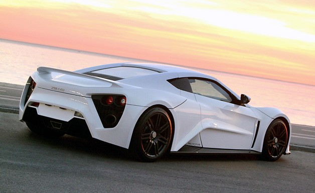 Zenvo ST-1 rear 3/4 view