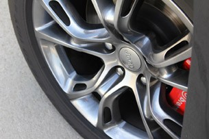 2012 Jeep Grand Cherokee SRT8 wheel