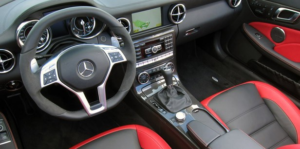 2012 Mercedes-Benz SLK55 AMG interior