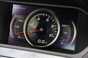 2012 Mercedes-Benz C63 AMG Coupe Black Series acceleration timer