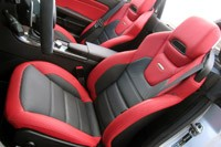2012 Mercedes-Benz SLK55 AMG seats
