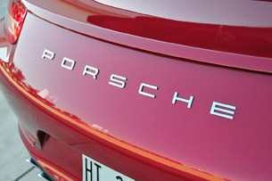 2012 Porsche 911 Carrera S badge