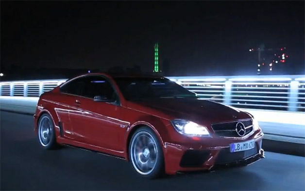 Mercedes-Benz C63 AMG Black Series video screen capture