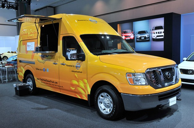 Nissan NV Food Truck