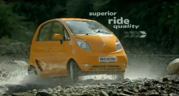 First 2012 Tata Nano blurb released, it&#8217;s &quot;Insane, bro!&quot;
