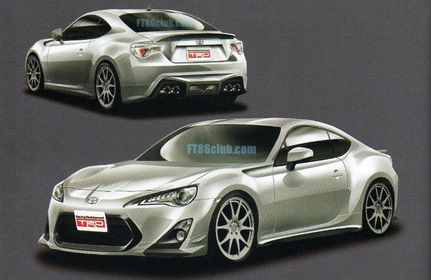Toyota FT-86 TRD