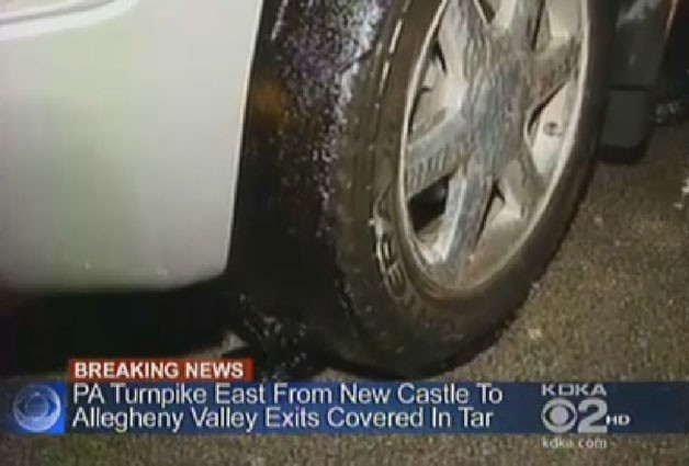 Pennsylvania Turnpike spill