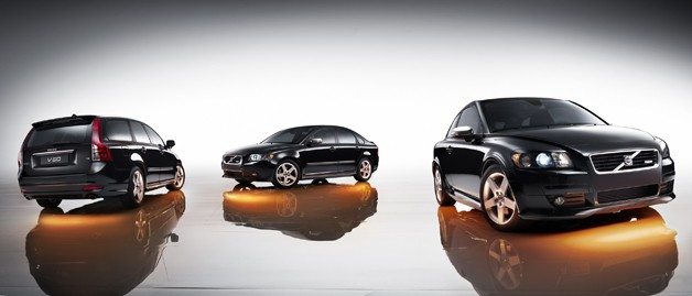 Volvo C30, S40 and V50