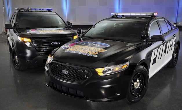 Ford Police Interceptor pace cars