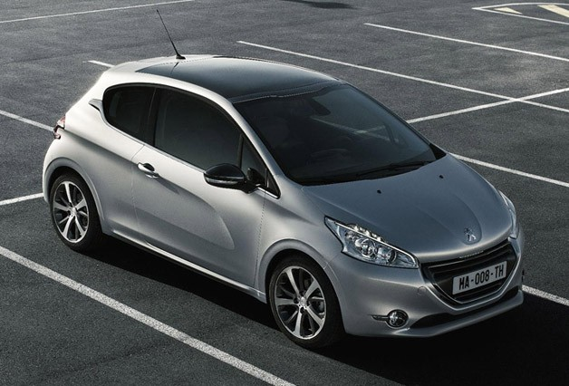2012 Peugeot 208 three-door