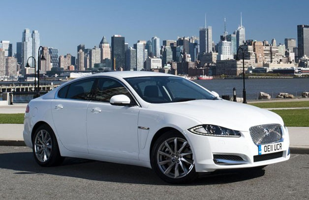 Jaguar XF diesel cross-country tour