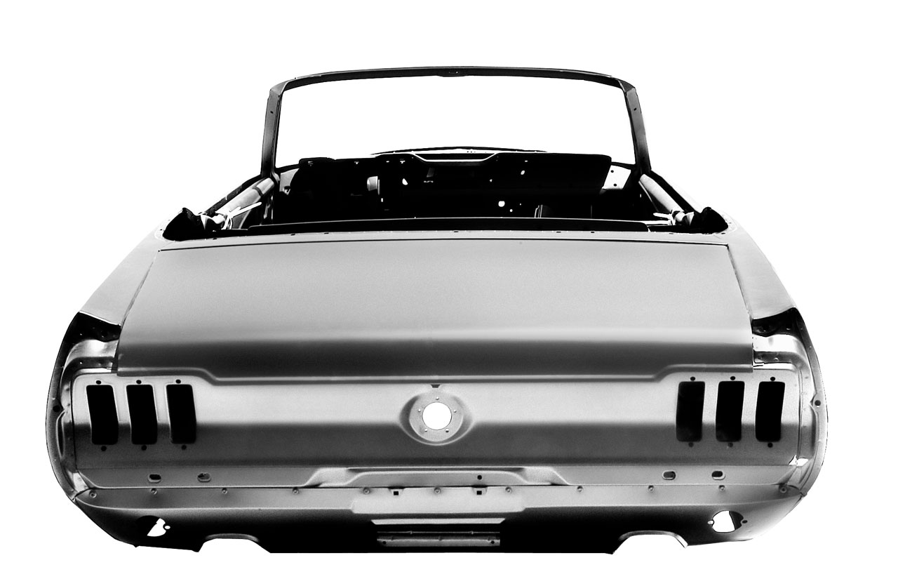 ford releases 1967 mustang convertible bodyshell autoblog. Black Bedroom Furniture Sets. Home Design Ideas