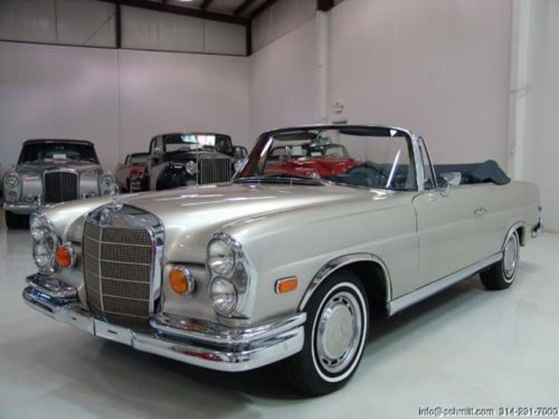 The Hangover 1965 Mercedes-Benz 220se Convertible