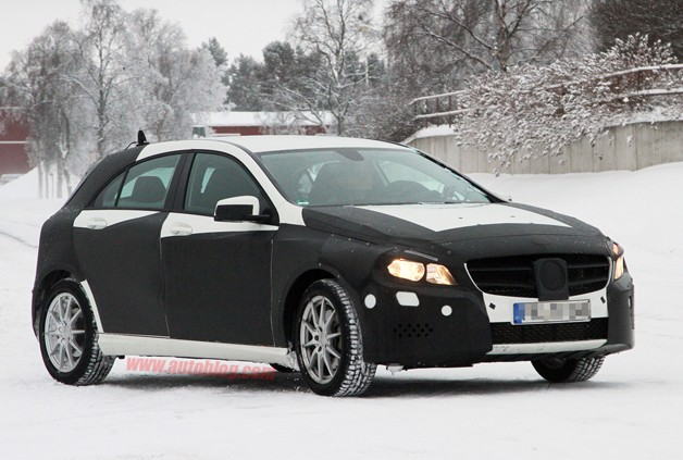 Mercedes-Benz A -Class prototype spy shot
