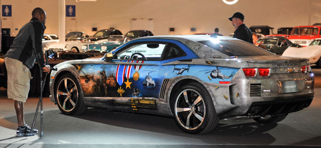 Military Tribute Camaro