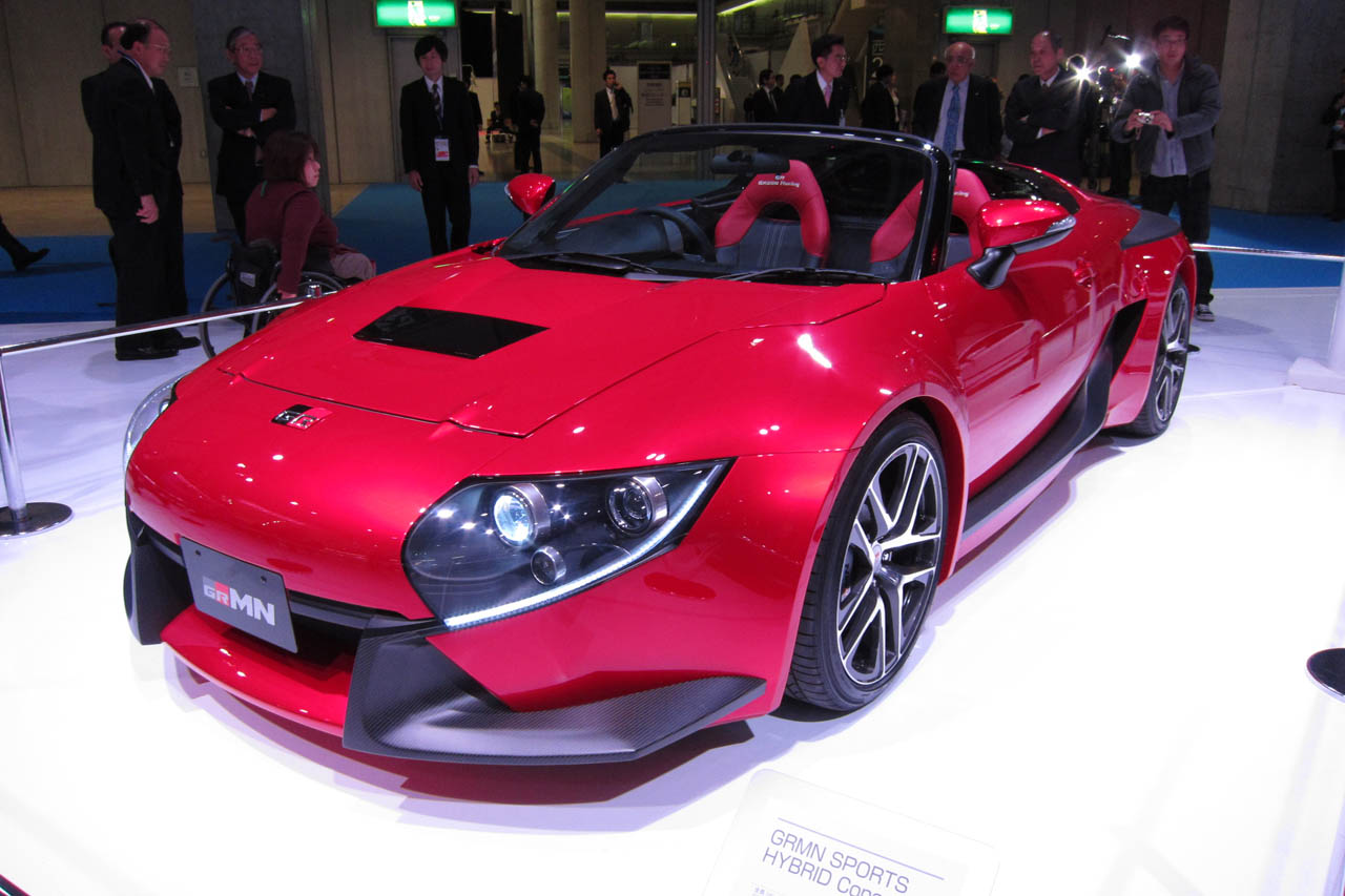 Toyota Dealers Mn >> MR2 lives on with Toyota GRMN Sports Hybrid Concept II ...
