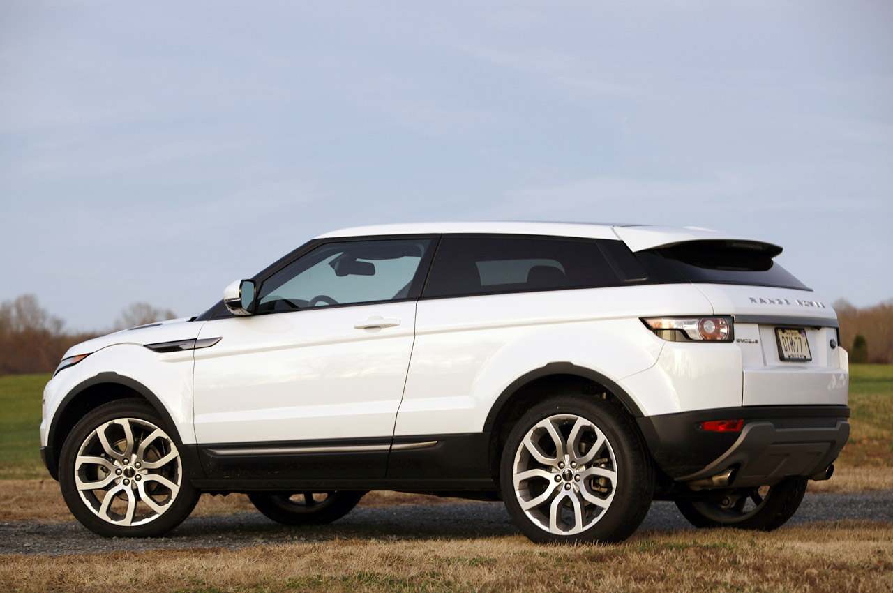 2012 land rover range rover evoque coupe review photo gallery autoblog. Black Bedroom Furniture Sets. Home Design Ideas
