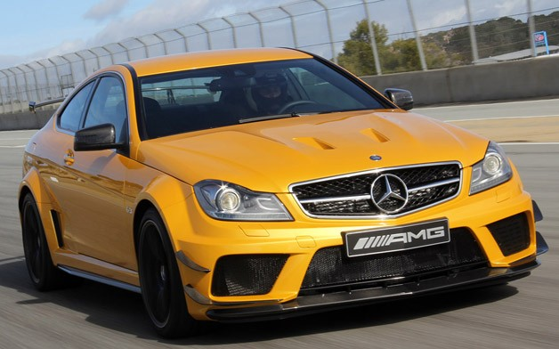 14 Mercedes C63 Amg Black Series